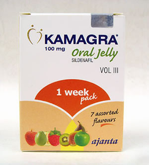 Actual blister image of Kamagra Jelly
