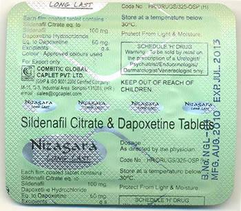 Generic Viagra With Dapoxetine
